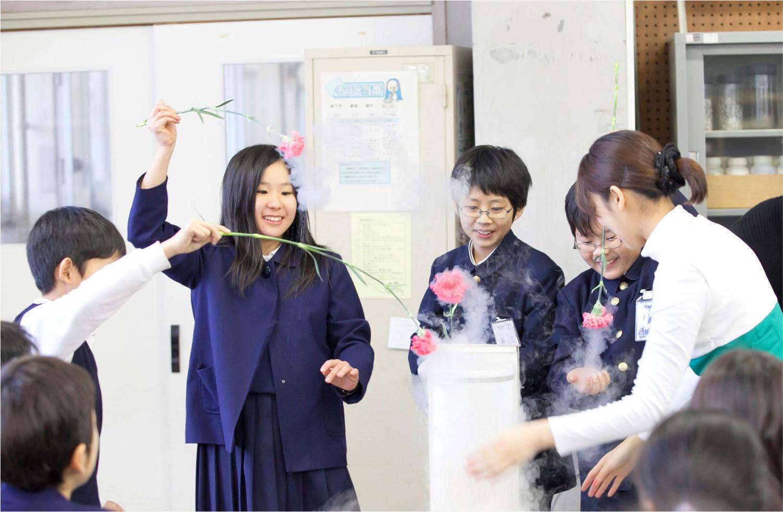 広島ガス防災教室 授業風景